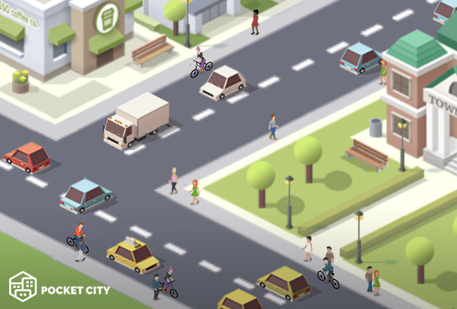 pocket city cyclists