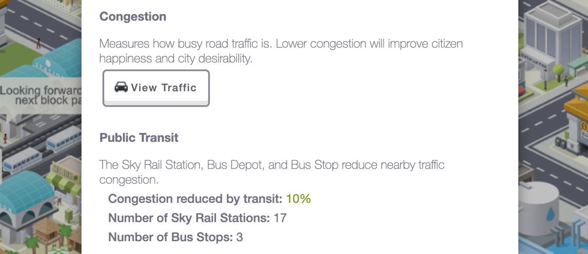 transit stats pocket city update